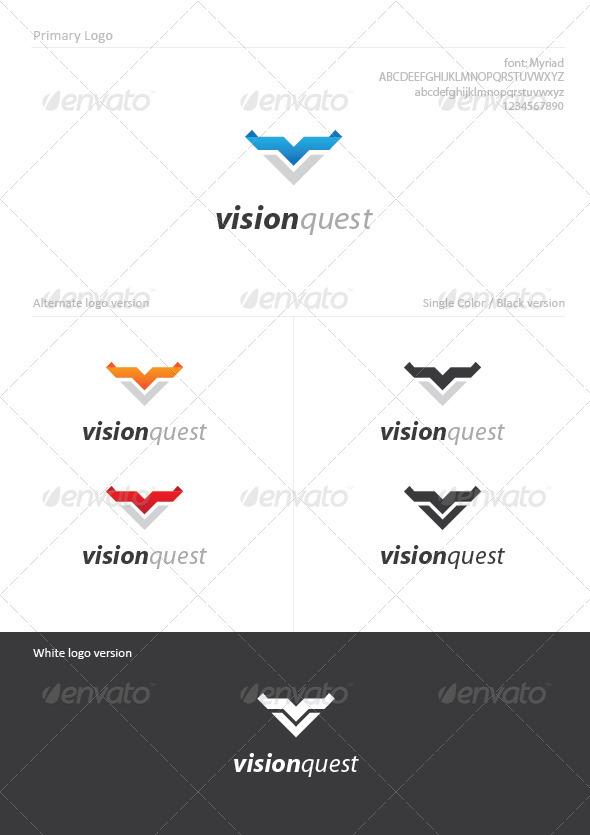 Vision Quest - Letters Logo Templates