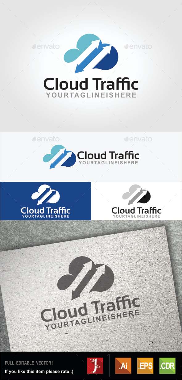 GraphicRiver Cloud Traffic 10509092