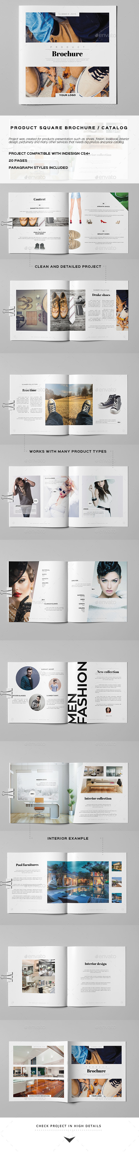 GraphicRiver Product Square Brochure Catalog 10509207