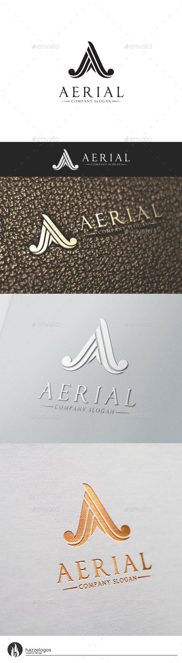GraphicRiver Aerial Logo 10509222