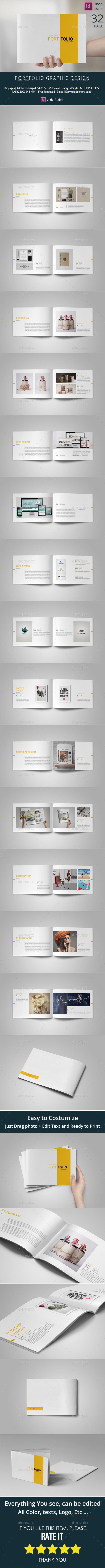 GraphicRiver A5 Portfolio Template 10509226