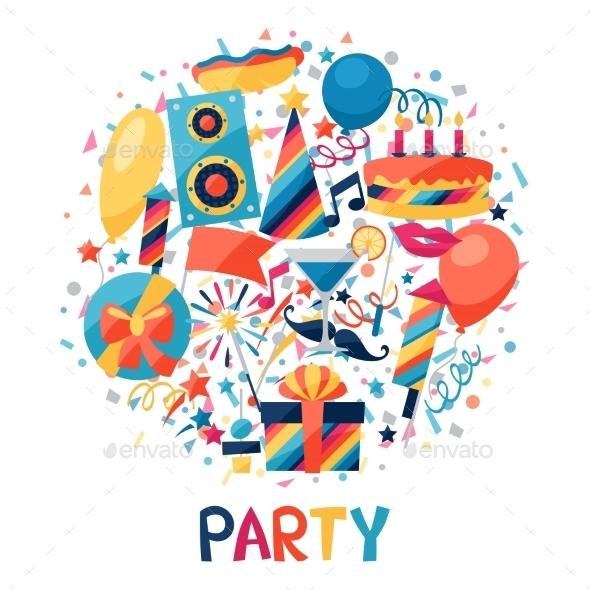 GraphicRiver Celebration Background 10509245