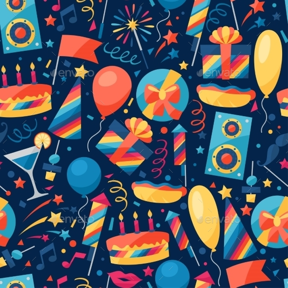 GraphicRiver Celebration Pattern 10509250