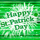 Modern Style Happy St Patricks Day Design - PhotoDune Item for Sale