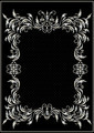 Silver Border with Decor in the Victorian style - PhotoDune Item for Sale