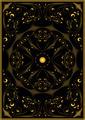 Decorative Gold Oriental Pattern on a black background. - PhotoDune Item for Sale