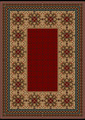 luxurious Vintage Oriental Rug with  Burgundy Shades  - PhotoDune Item for Sale