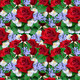 Background  from Bouquet of Red roses with Asters - PhotoDune Item for Sale
