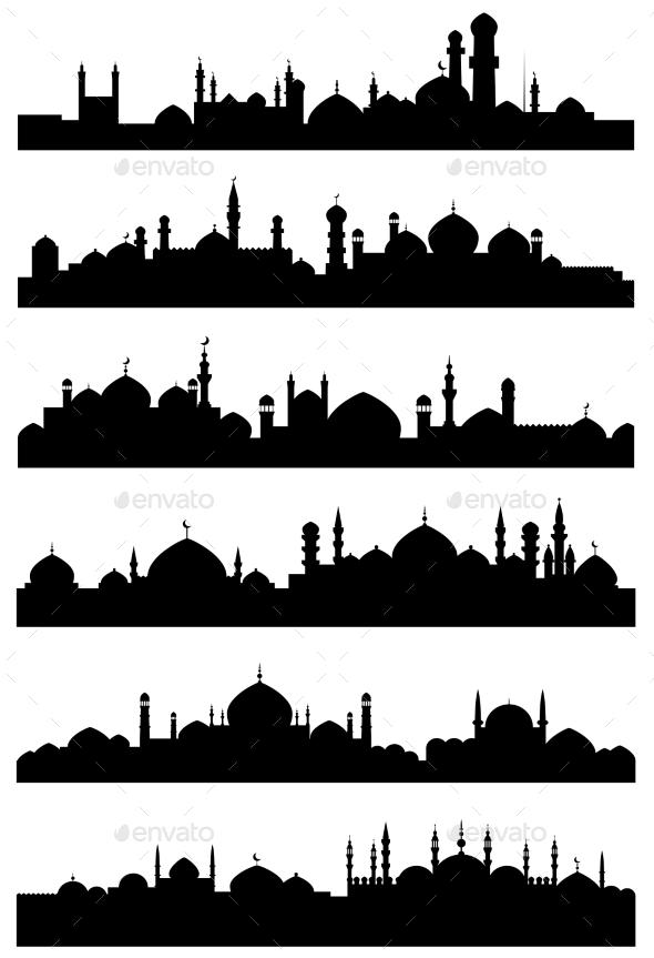 GraphicRiver Islamic or Arabic Cityscape 10509660