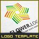 Flower Stream - Logo Template - GraphicRiver Item for Sale
