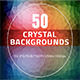 50 Crystal Backgrounds - GraphicRiver Item for Sale