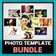 Photo Template Bundle_V1 - GraphicRiver Item for Sale