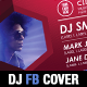 Event Club Party Facebook Timeline Cover Template