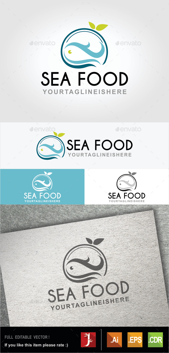 GraphicRiver Sea Food 10511066