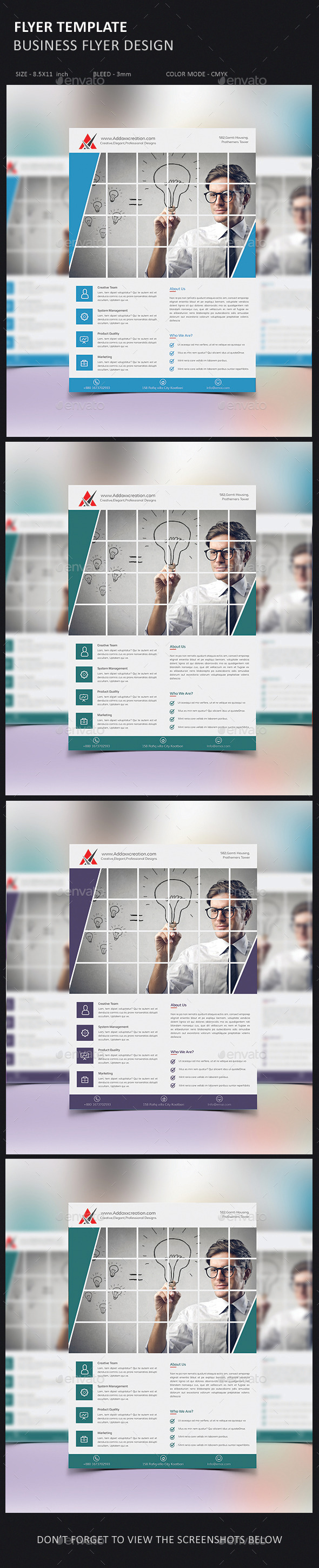 GraphicRiver Corporate Business Agency Flyer 10511195