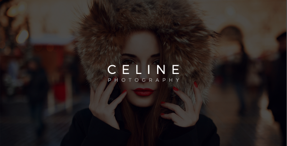 ThemeForest Celine Creative Photography Template 10459352
