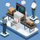 Isometric Infographic Security Check - GraphicRiver Item for Sale
