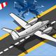 Isometric White Private Plane - GraphicRiver Item for Sale