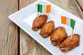 chicken wings on wooden table - PhotoDune Item for Sale