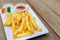 French fries on wood table - PhotoDune Item for Sale