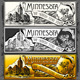 Vintage Minnesota Label Plaque,  Black and Gold  - GraphicRiver Item for Sale