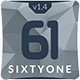 SixtyOne Multipurpose Muse Template - ThemeForest Item for Sale