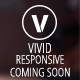 Vivid Responsive Coming Soon Template