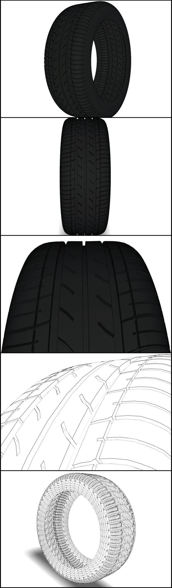 Tire Bridgestone - 3DOcean Item for Sale