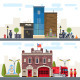 Landscape with Buildings - GraphicRiver Item for Sale