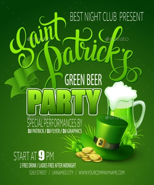 GraphicRiver St Patricks Day 10511751