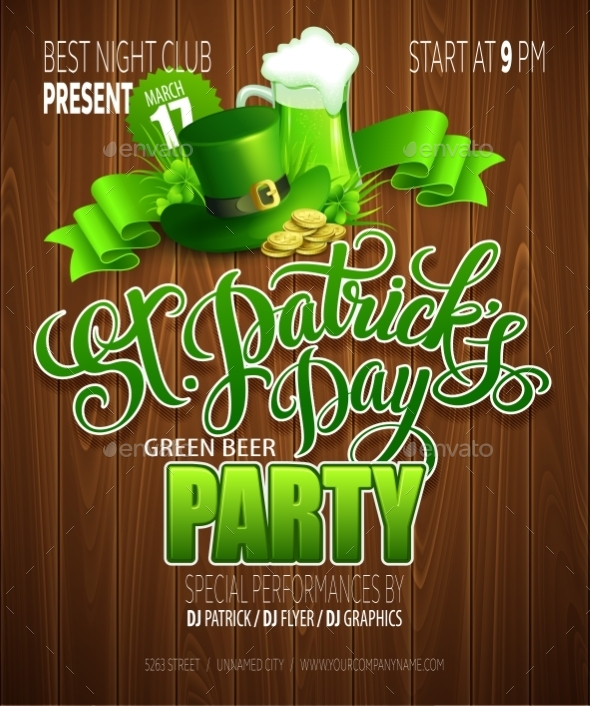 GraphicRiver St Patricks Day 10511756