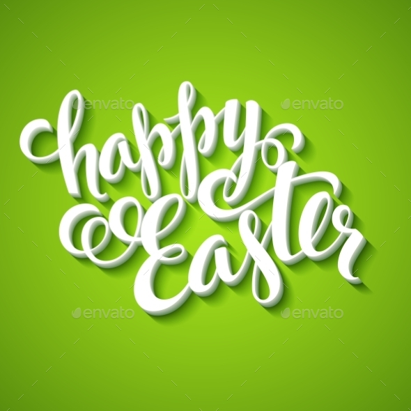 GraphicRiver Title Happy Easter 10511804