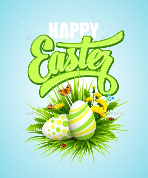 GraphicRiver Easter Poster 10511807
