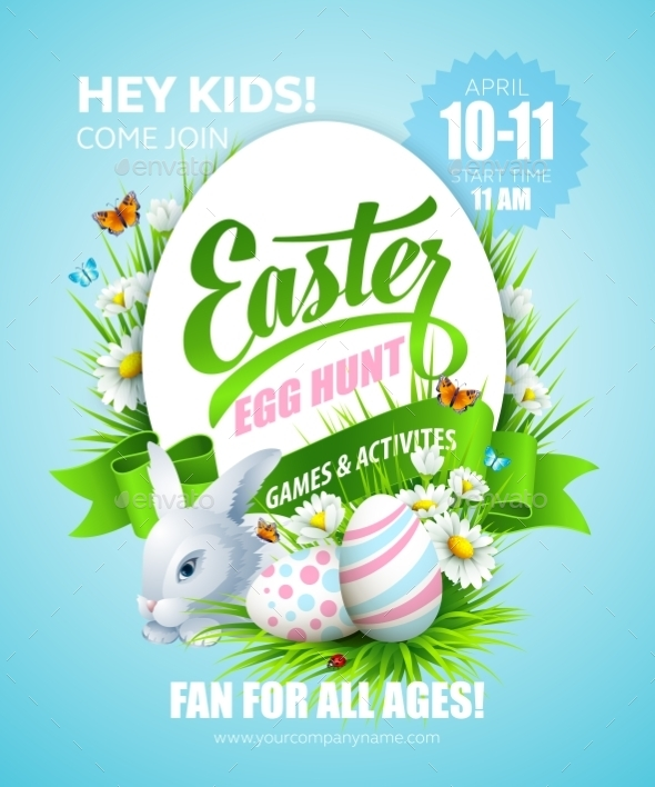 GraphicRiver Easter Poster 10511816
