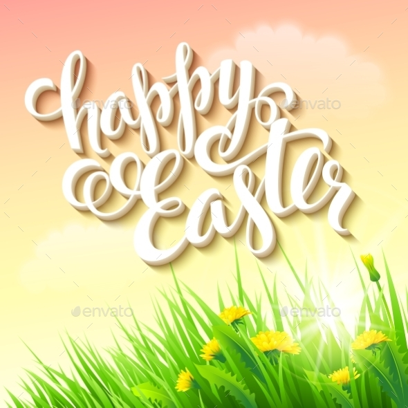 GraphicRiver Easter Poster 10511853