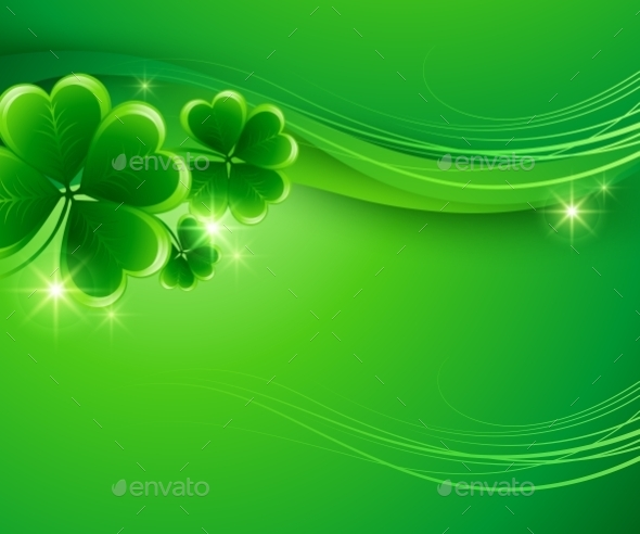 GraphicRiver St Patricks Day Background 10512177