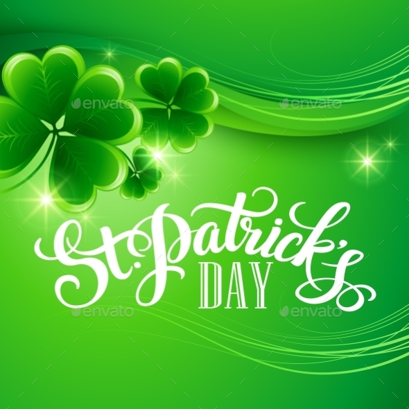 GraphicRiver St Patricks Day Background 10512180