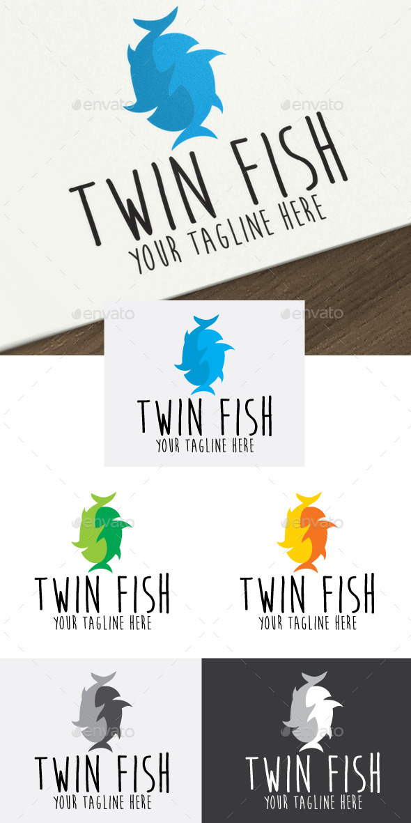GraphicRiver Twin Fish 10512228