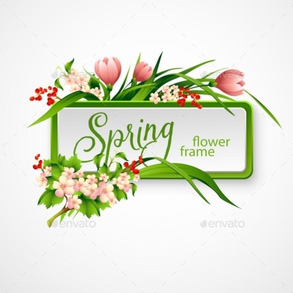 GraphicRiver Spring Frame 10512271