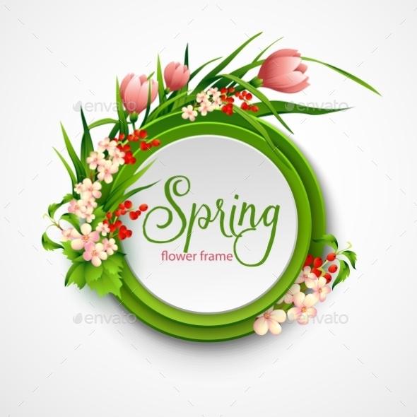 GraphicRiver Spring Frame 10512274