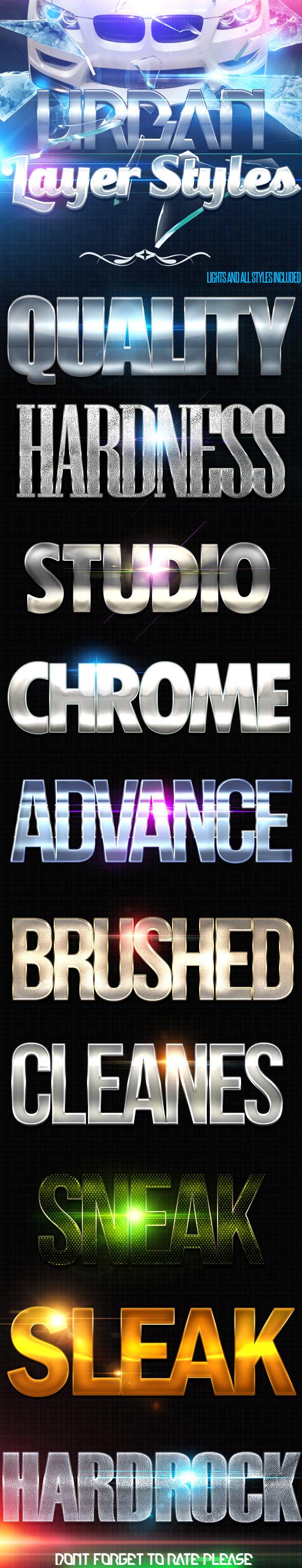 GraphicRiver Urban Premium Styles 10512290
