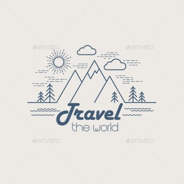 GraphicRiver Linear Travel Landscape 10512418
