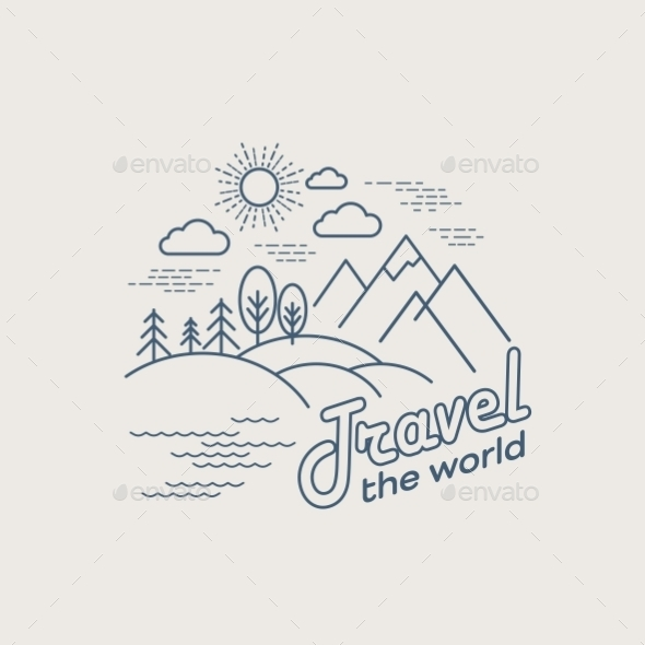 GraphicRiver Linear Travel Landscape 10512421