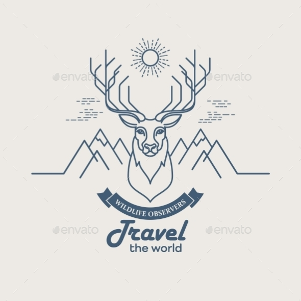 GraphicRiver Animals Linear 10512427