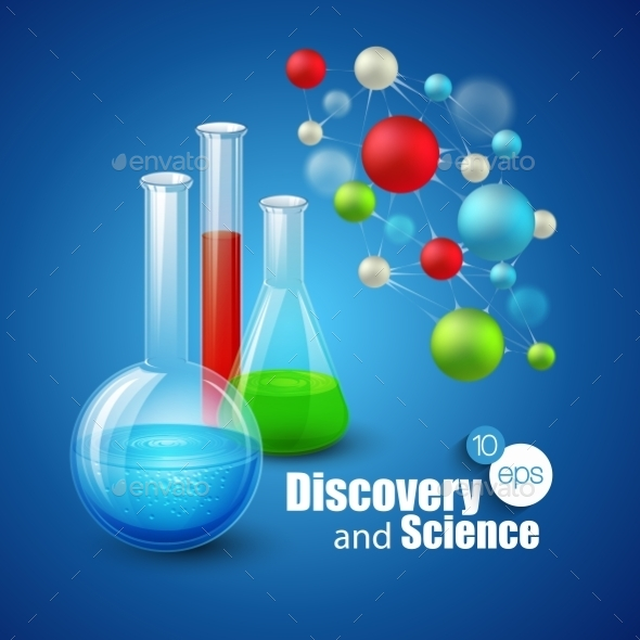 GraphicRiver Science Background 10512432