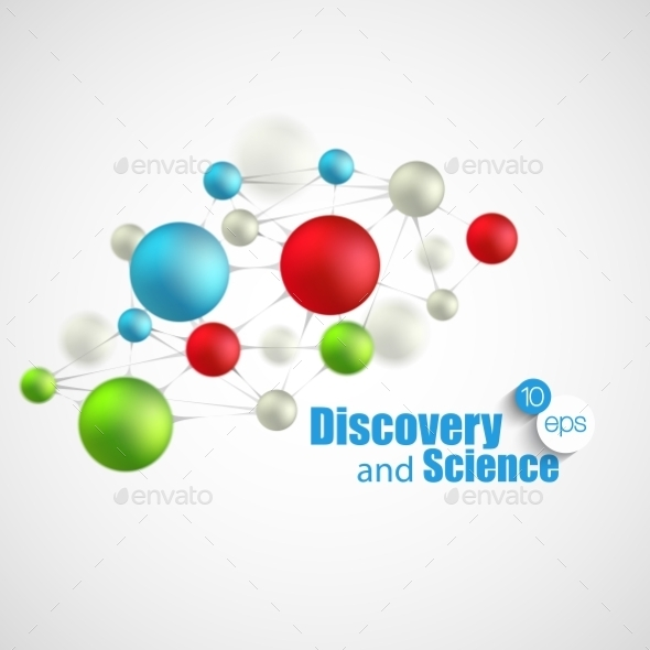 GraphicRiver Science Background 10512448