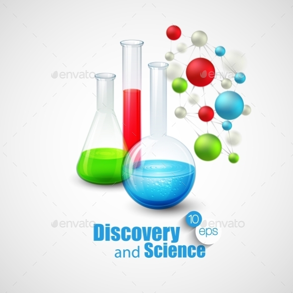 GraphicRiver Science Background 10512449
