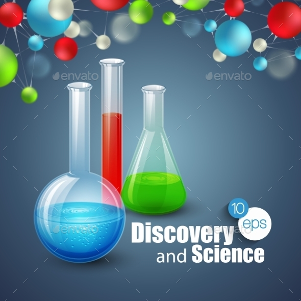 GraphicRiver Science Background 10512451