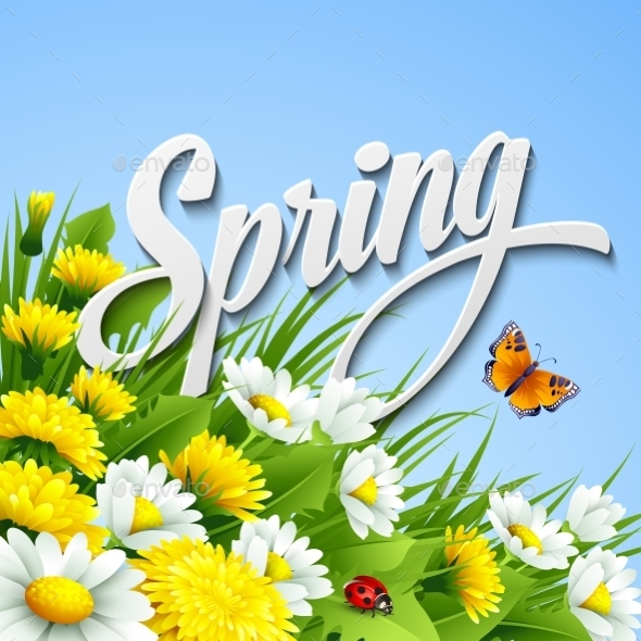 GraphicRiver Spring Background 10512496