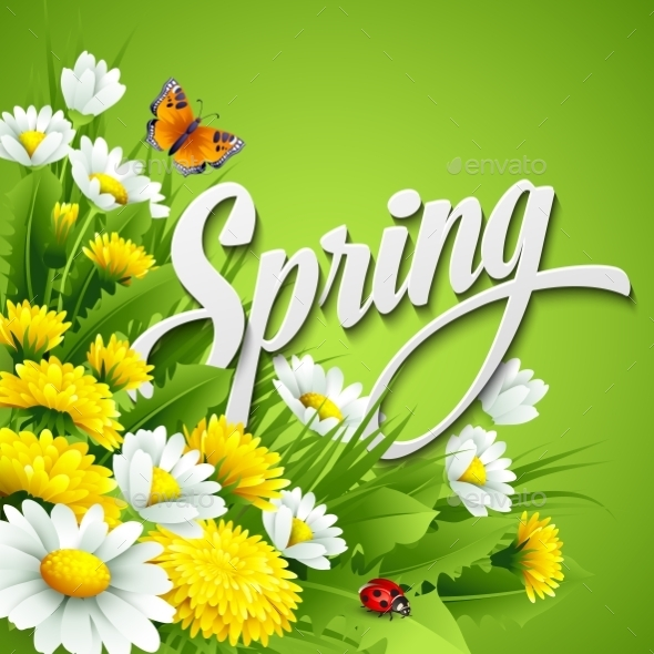 GraphicRiver Spring Background 10512499